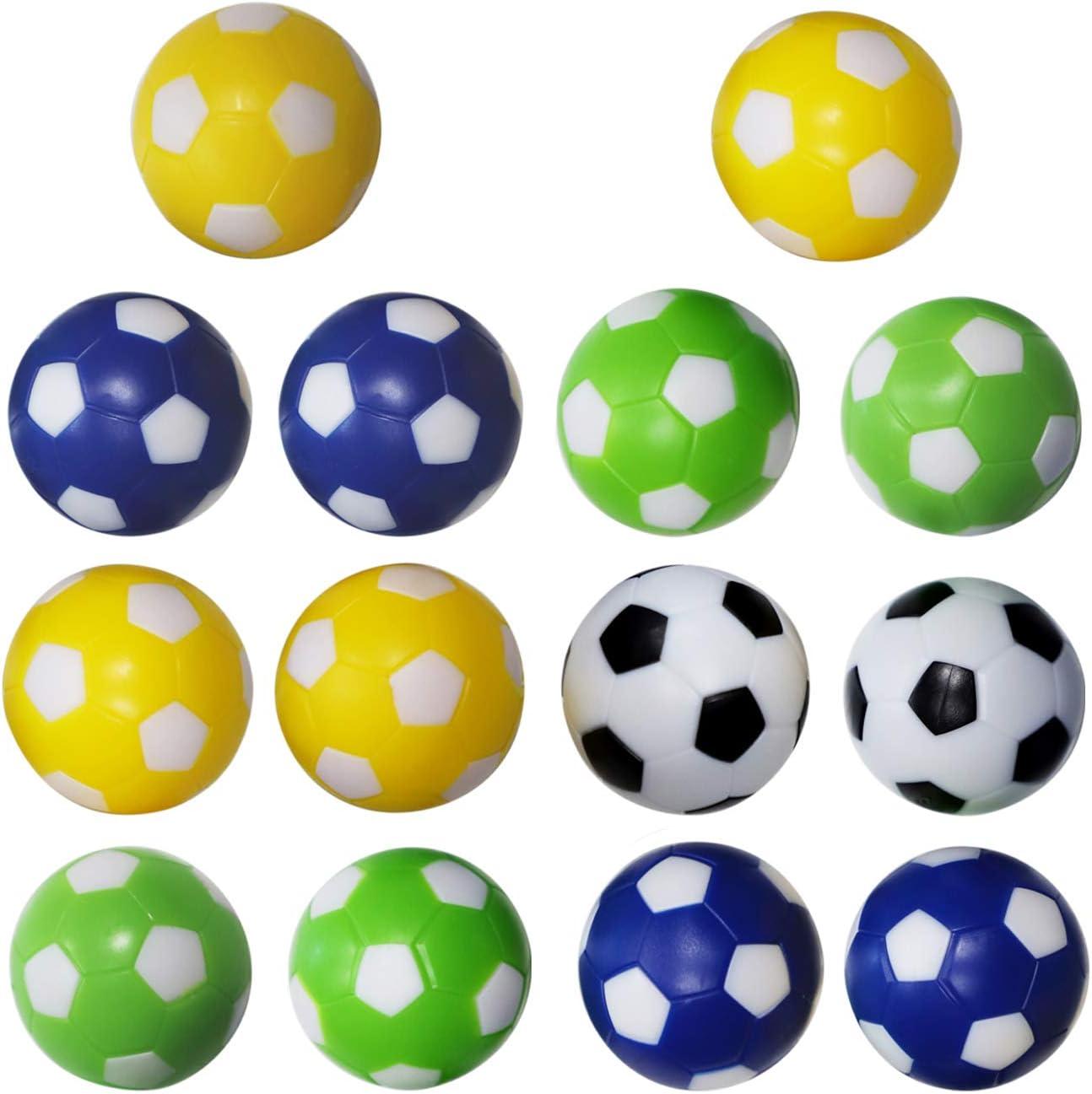 36mm Foosball Replacement Balls 14 Pack NONE BRAND Zdgao Foosball Balls Table Soccer Balls 1.4