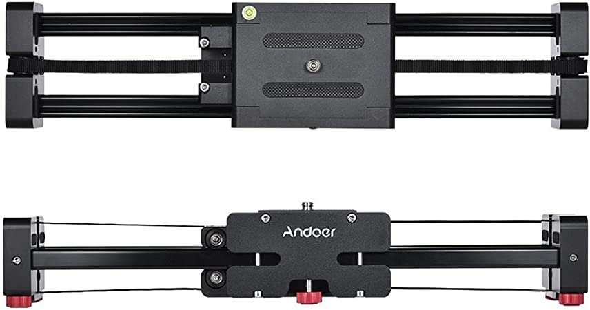 Andoer Versenkbare Kamera Video Slider Dolly 40cm Track Kamera