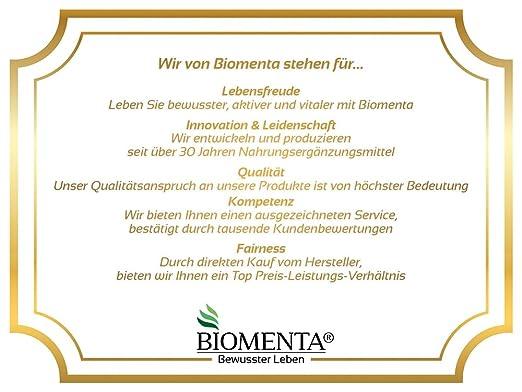 Biomenta SET - Para una NATURAL LA Limpieza del colon (limpieza del ...
