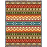 Pure Country Weavers ''Southwest Stripe Blanket' Tapestry Throw