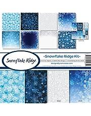 Reminisce SFR-200 Snowflake Ridge Scrapbook Collection Kit