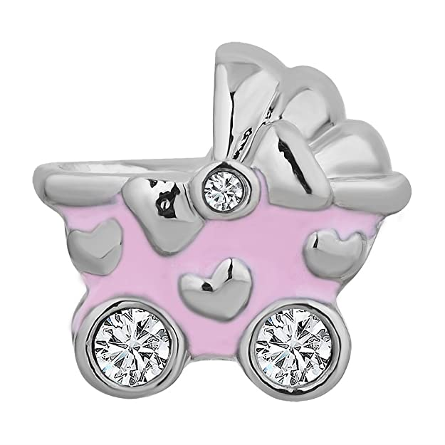 CharmSStory Baby Carriage Bead Charms Bracelets