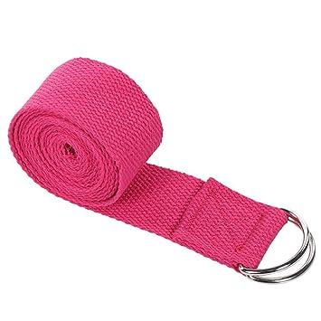 Correa elástica para yoga, correa de yoga larga, accesorio ...