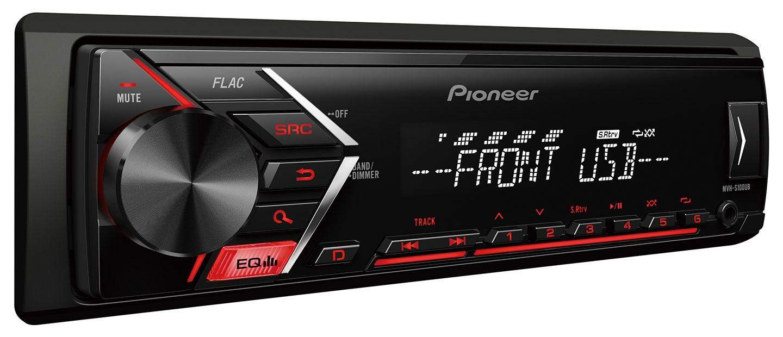 A6 Pioneer MVH-S100UB USB AUX MP3 1DIN Autoradio f/ür Audi A3 C5 01-05 8L 00-03