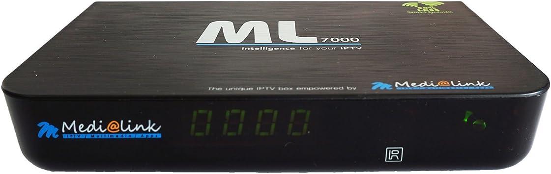 Media Link Smart Home ml7000 IPTV Receptor: Amazon.es ...