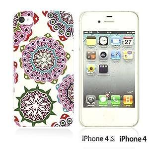 National Pattern Hardback For Iphone 5C Case CoverPink Floral Pattern