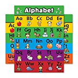 Best Read With Colors Charts - ABC Alphabet Poster Chart - LAMINATED - Double Review