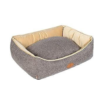 Cama para mascotas Cama Lavable de Lujo Felpa Cama cómoda para Mascotas Perro de Mascota Cojín