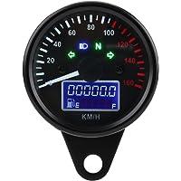 Velocímetro digital para motocicleta con pantalla LCD