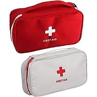 Zuzer Botiquín de Primeros Auxilios,2PCS Bolsa Médica Vacio