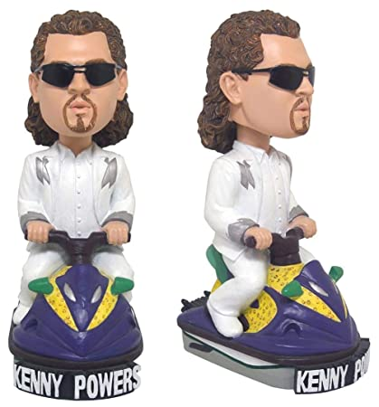 cheap for discount 690a2 d229a Amazon.com  Eastbound   Down Kenny Powers White Suit Bobble Head  Toys    Games