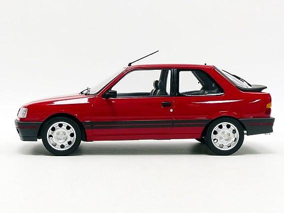 Noreva NV184880 1998 Peugeot 309 Gti - Modelos fundidos, escala 1:18, color rojo: Amazon.es: Juguetes y juegos