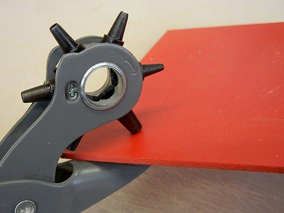 General Tools Herramienta de perforación de agujero de cuero, 5/64 pulgadas a 3/16 pulgadas (72): Amazon.es: Bricolaje y herramientas