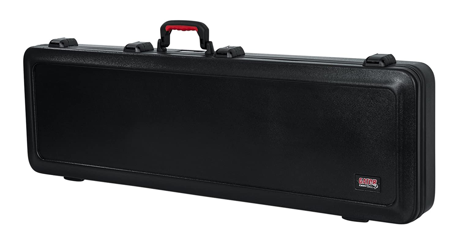 Gator GTSA-GTRELEC Cases Molded Flight Case For Strat/Tele Style Electric Guitars With Tsa Approved Locking Latch Gator Cases