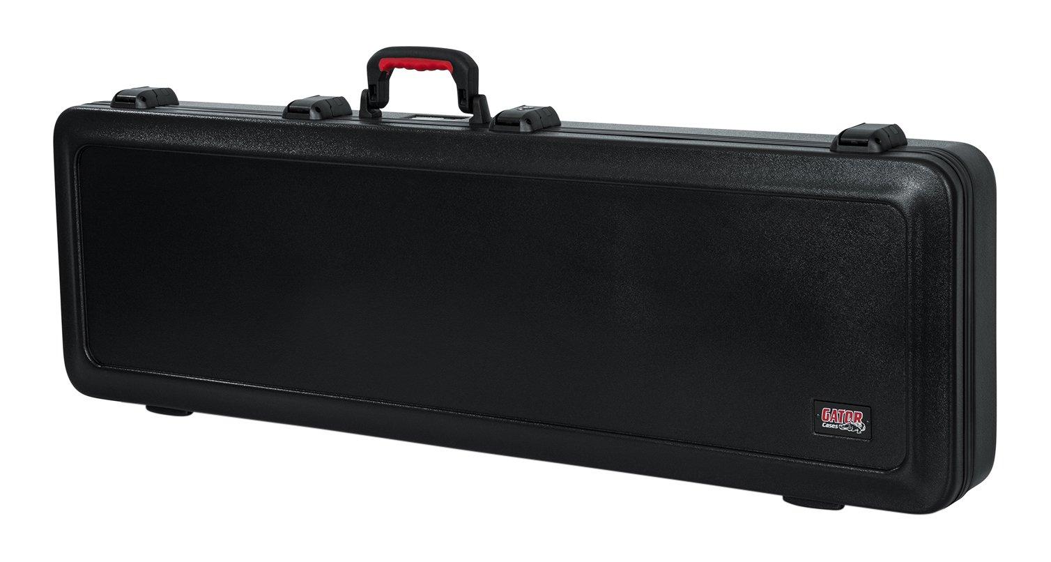 Gator Cases Molded Flight Case For Bass Guitar With TSA Approved Locking Latch (GTSA-GTRBASS) by Gator