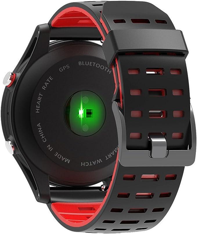Amazon.com : Heart Rate Monitor GPS Multi-Sport Mode OLED ...