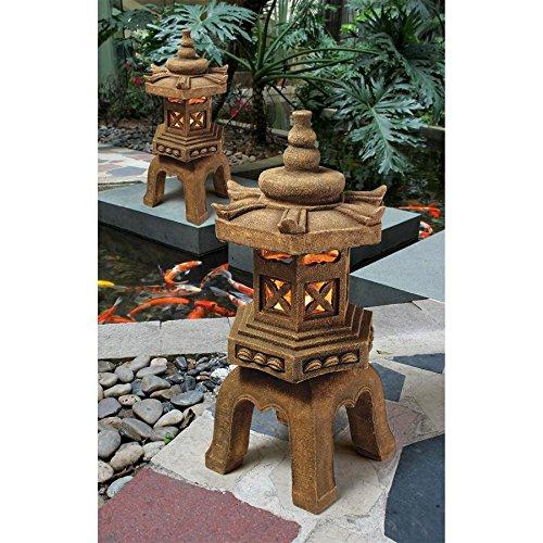 Design Toscano Pagoda Lantern Illuminated Statue (Set of 2) Review