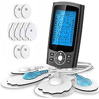 Electroestimulador TENS y electroestimulación muscular, 24 Modos 2 Canales USB…