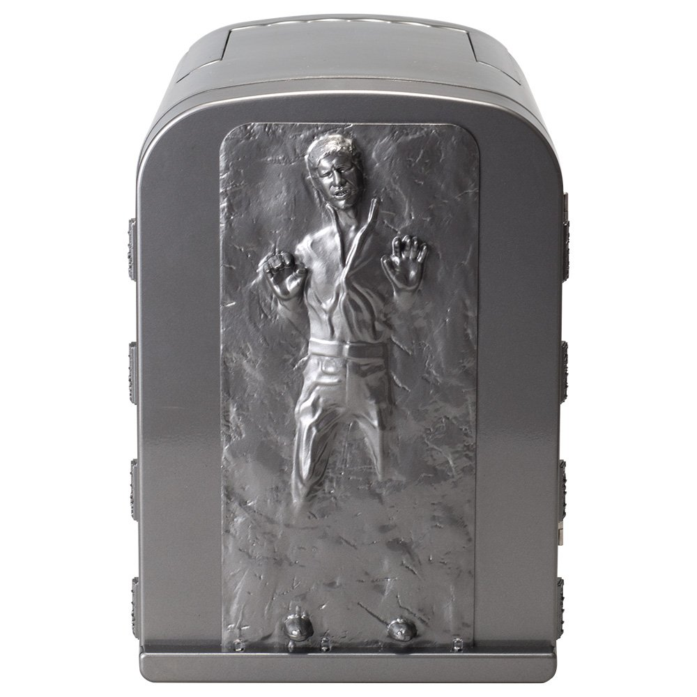 NEW Star Wars Han Solo in Carbonite 3D 4 Liter Thermoelectric Cooler or Warmer 4L