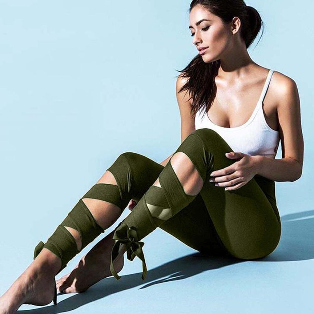 e67ad7d43f383 Amazon.com: Fabal Yoga pants Ballet Spirit Bandage Workout infinity Turnout  Leggings: Clothing