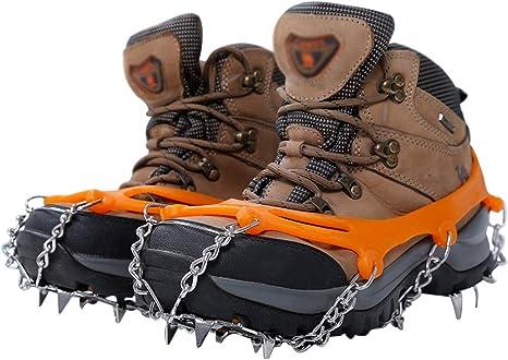 SHOE COVER Hielo Grips De Nieve Crampones Picos para Zapatos ...
