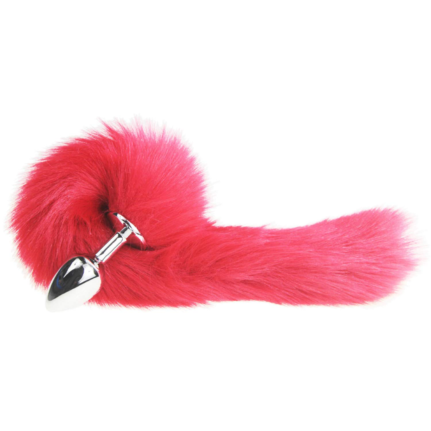 a08c6906b30 Amazon.com  FANRENYOU Nice Red Fox Dog Tail Metal Furry Anal Plug Sexy Toys  Butt Plug BDSM Flirt Anus Plug for Women Wild Cat Tail Adult Toy Stim   Jewelry