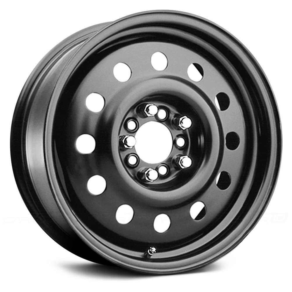 Pacer Black Modular 15 Black Wheel / Rim 4x100 & 4x4.5 with a 41mm Offset and a 72 Hub Bore. Partnumber 83B-5641