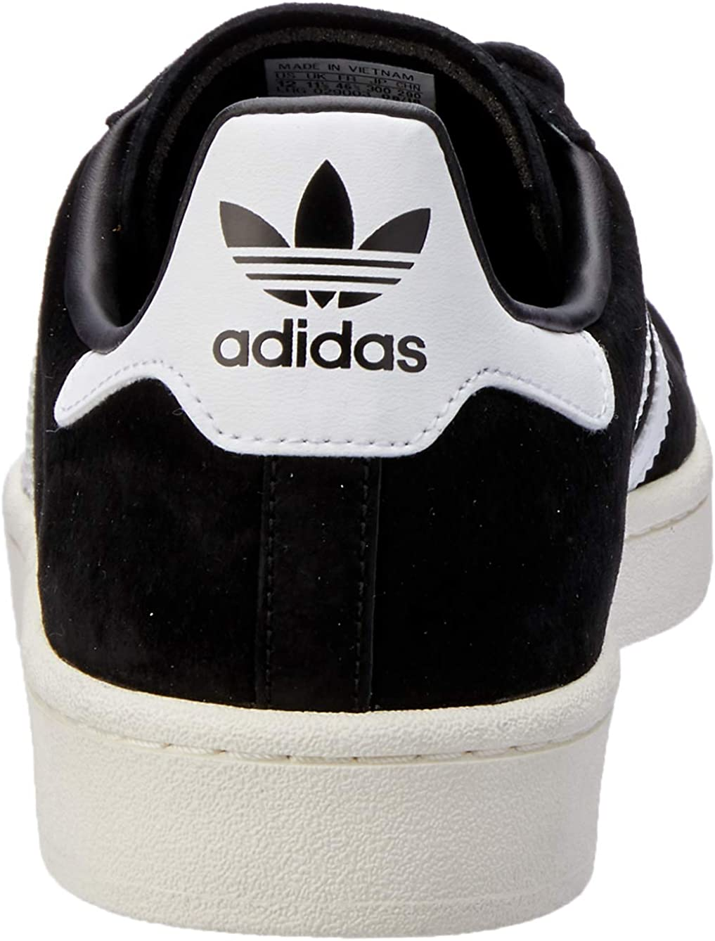 adidas Campus, Sneakers Basses Homme Noir Core Black Footwear White Chalk White