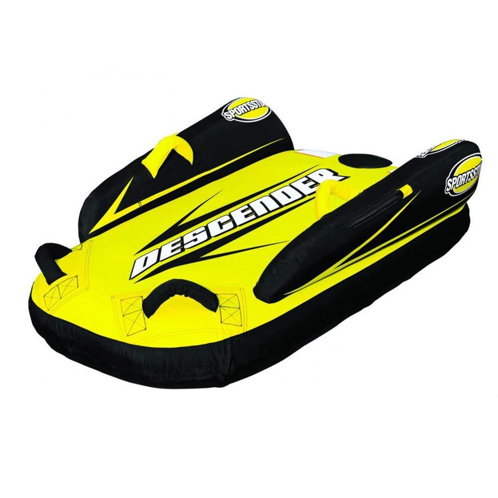 Kwik Tek Sportsstuff Inflatable Descender Sled with Side Stabilizer Wings | 30-2000