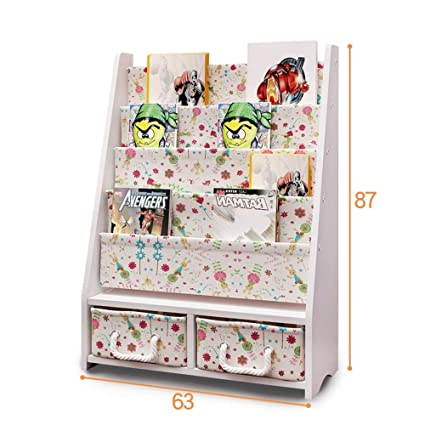 quality design 8da17 f6f95 Amazon.com: Children's Bookcase Kindergarten Picture ...