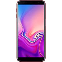"Samsung Galaxy J6+ Smartphone de 6"", Quad Core 1.4 GHz, RAM de 3 GB, Memoria de 32 GB, cámara de 13+5 MP, Android, Color Rojo"
