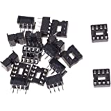 SODIAL(R) 20 x 8 Pin 2.54mm Pitch IC Sockets Solder Type Adaptor