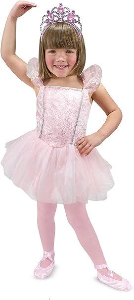 Melissa & Doug - Disfraz de bailarina para niños (18504), 3-6 años ...