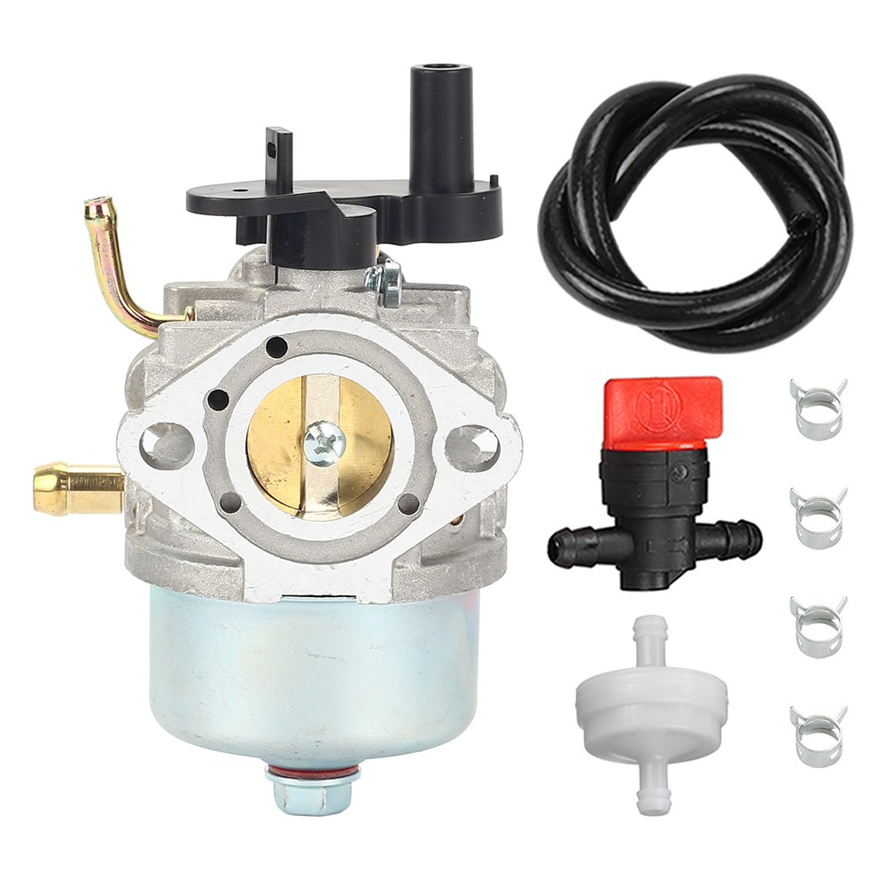 Amazon.com: CCR2450 carburetor with Fuel Filter Line Valve for Toro 210 221  Powerclear Snowblower Briggs & Stratton 801396 801233 801255 084132 084133  ...