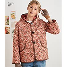 Simplicity Pattern 8298 Misses Coat and Jacket by Dottie Angel, Size XS-XL