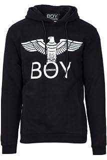 8ba82ede6756 W00 Damen Sweatshirt Pullover Boy London Adler Aufdruck Lange Ärmel ...