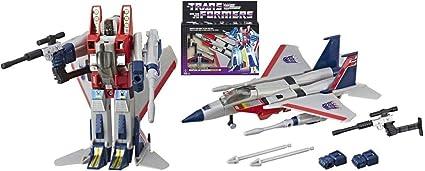 Starscream Decepticon Air commandant Transformers génération 1 Réédition Exclusive