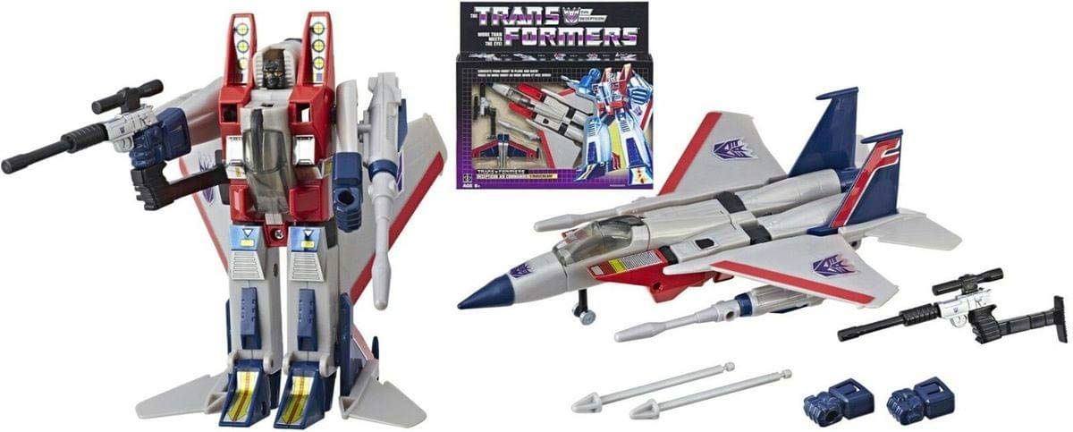 Transformers New 2018 Vintage G1 Exclusive Starscream Reissue