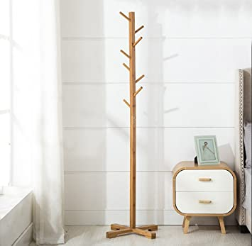 Amazon.com: BJLWTQ Coat Stand, Modern Floor Standing Hat and ...