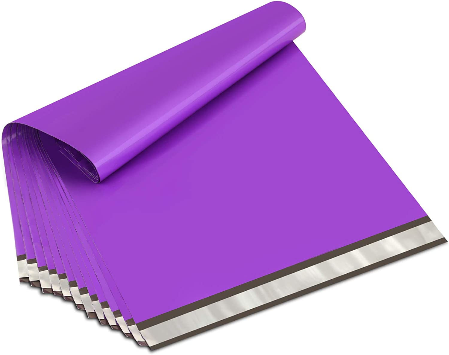 PURPLE Poly MailersChoose Size /& QuantitySmall or Large ~ Thick 2.35 mil