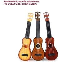 Rouku 14.5 Pulgadas Ukulele Principiante Hawaii 4 Cuerdas Cuerdas de Nylon Guitarra Ukelele Musical para Niños Niños Niñas