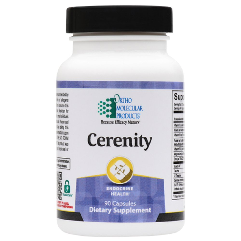 Ortho Molecular Products Cerenity Capsules, 90 Count