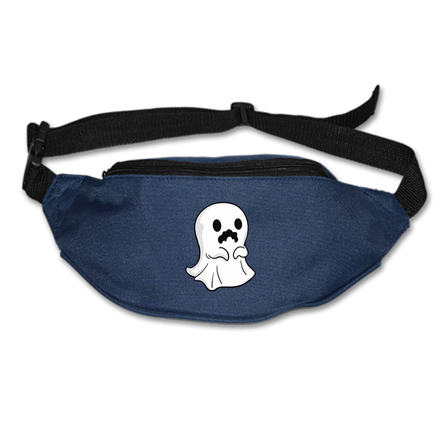 Halloween Haunted House Running Lumbar Pack For Travel Outdoor Sports Walking Travel Waist Pack,travel Pocket With Adjustable Belt