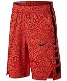 Nike Elite Basketball Dry-Fit Shorts Max Orange/Black (X-Small)