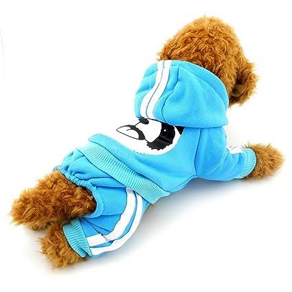 Amazon Com Selmai Fleece Dog Coat Pattern Bear Small Puppy