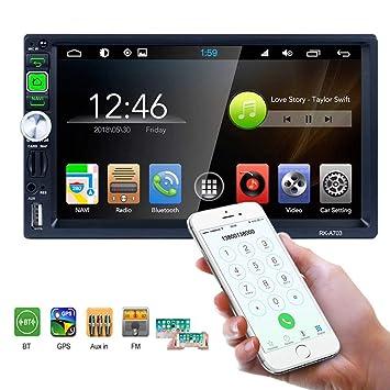 Amazon.com: Android 7 coche Audio Digital Video estéreo Auto ...