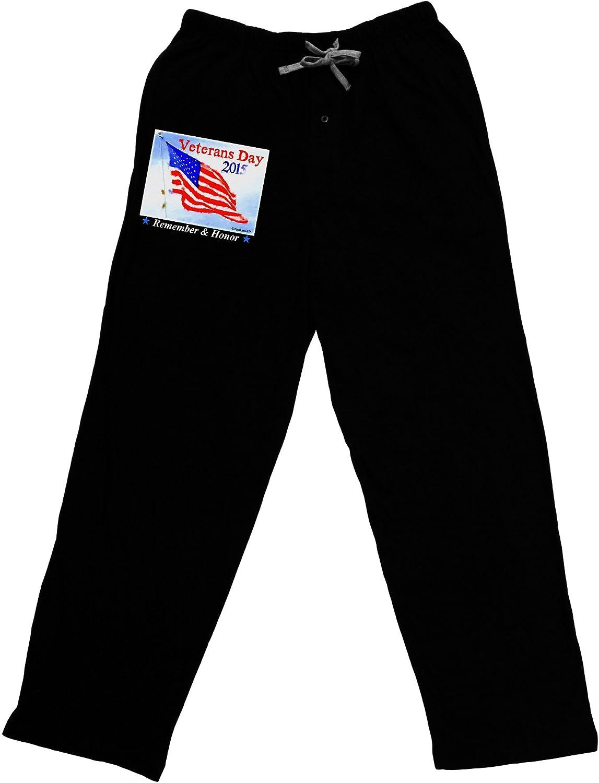 TooLoud Veterans Day 2015 Watercolor Adult Lounge Pants