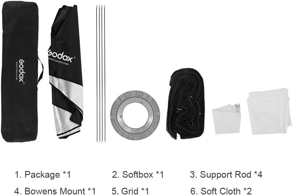 Godox 30 X 120 Cm Wabe Rechteckige Softbox Für Foto Kamera