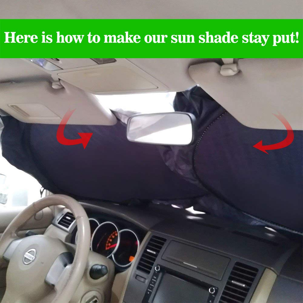 Cling Sun Shade for Side Rear Window for Baby Kids,80 GSM with 15s Film for Full UV Rays Sun Glare Protection-2 Transparent /& 2 Semi-Transparent Sunshades 21x 14 4 Pack 2win2buy Car Window Shade
