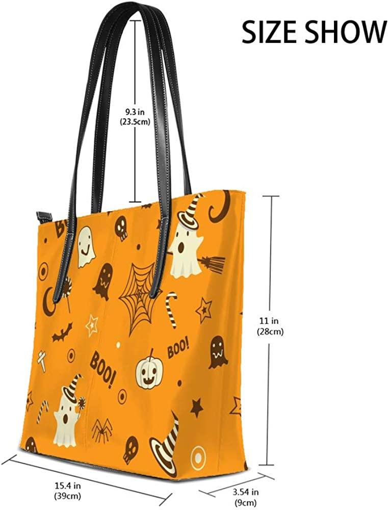 Women Handbags Halloween Shoulder Bags Large Tote Bags Lady Casual Bags School Shopping Trip Dating